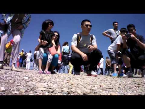 World's first drone video in Changbai Mountain Heaven Lake 천지