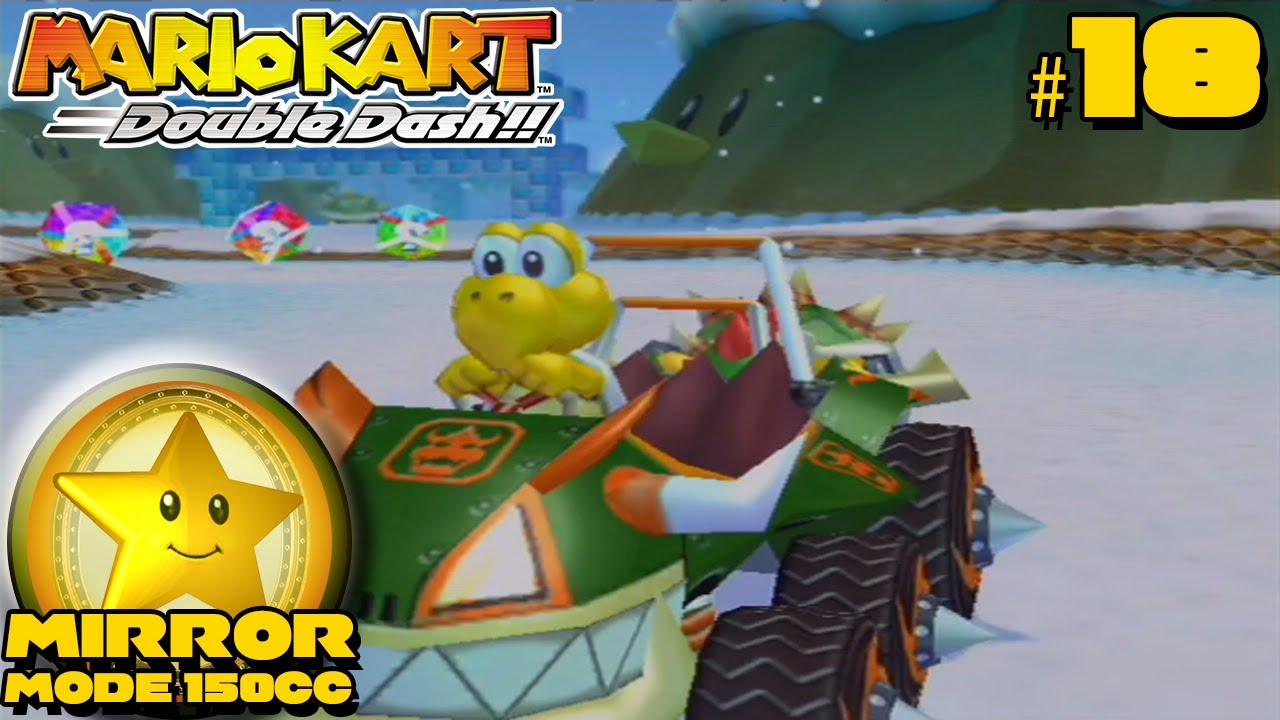 Mario kart double dash mirror mode star cup gameplay for Mirror gameplay walkthrough