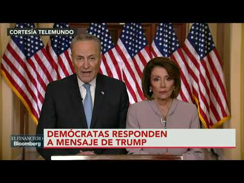 """""""No estamos de acuerdo con el presidente"""": Chuck Schumer"""