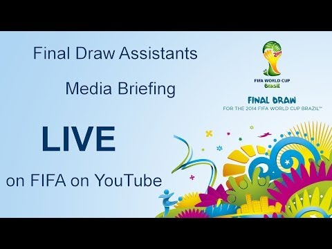 REPLAY: Final Draw Assistants, media briefing