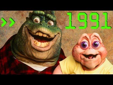 [ТРАВА ЗЕЛЕНЕЕ] #10 - ДИНОЗАВРЫ/СЕМЬЯ ДИНОЗАВРОВ (Dinosaurs 1991)