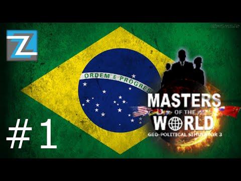Geopolitical Simulator 3 - Brasil - Ep1 - Agora a porra é séria!. - GamePlay/PC/PT-BR