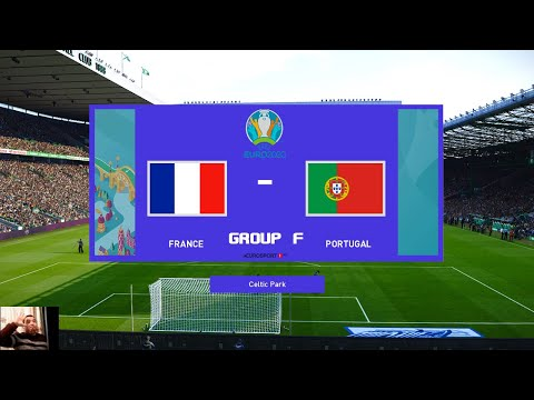PES 2020 | France vs Portugal - group: F | EURO 2020 Full Match | All Goals HD