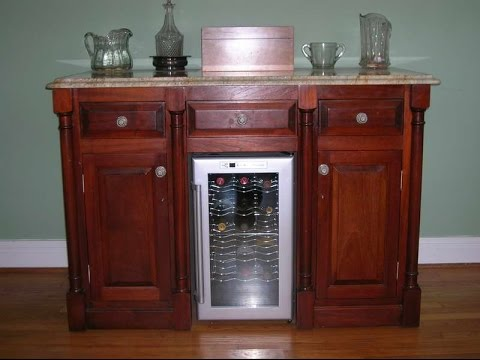 Bon Bar Cabinet With Fridge