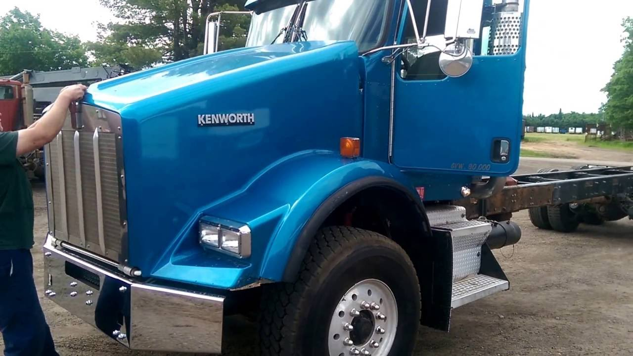 hight resolution of 2006 kenworth t800 cab and chassis