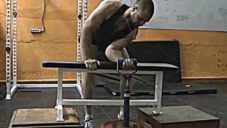 Подсобные упражнения для сгибания стали на весу