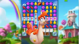 Candy Crush Friends Saga Level 447 (3 stars, No boosters)