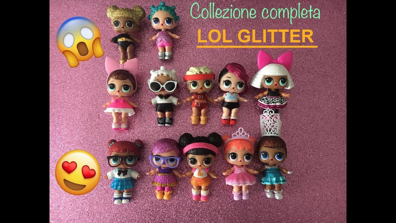 Epic Video Collezione Lol Surprise Glitter Series Completata Ita
