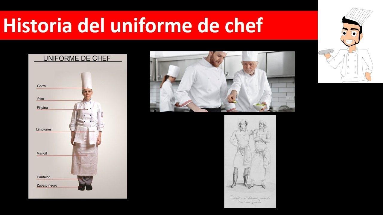 Partes del uniforme de chef gastronom a escribiendo mi for Elementos de cocina para chef