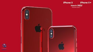 iPhone X - iPhone X+ Product red