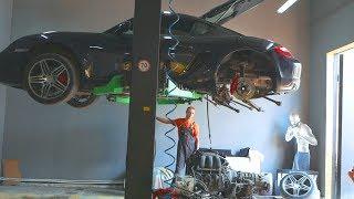 Самодельный Ламборгини.Ремонт мотора и увеличения мощности. часть 5