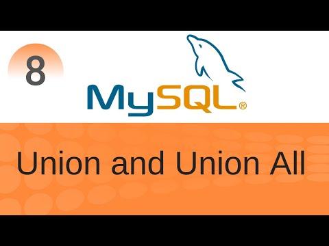 SQL Tutorial 8: Union & Union All In SQL