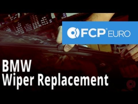 Windshield Wiper Replacement (Bosch Icon Wiper Blades) FCP Euro