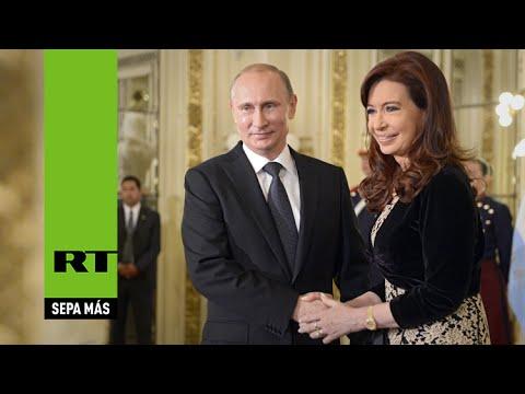 Para Putin, Argentina es uno de los principales socios en Latinoamérica