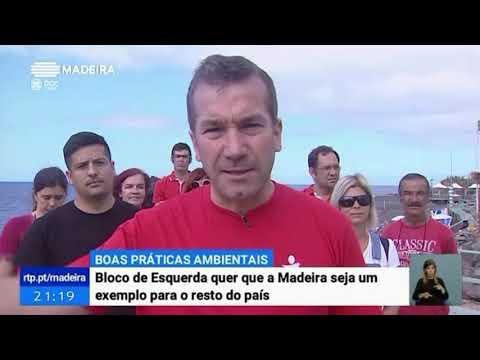Banir as embalagens descartáveis - a Madeira pioneira | Telejornal RTP M