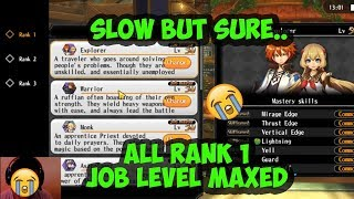 Finally.. All Rank 1 Job Level Maxed | Alchemia Story Personal Experience