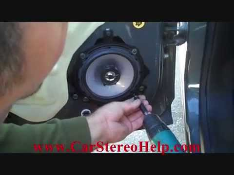 2010 Chevy Cobalt Radio Wiring Diagram How To Chevrolet Hhr Rear Car Speaker Removal And Install