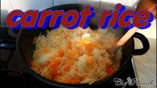 Jamaica Carrot Rice Recipe | Recipes By Chef Ricardo