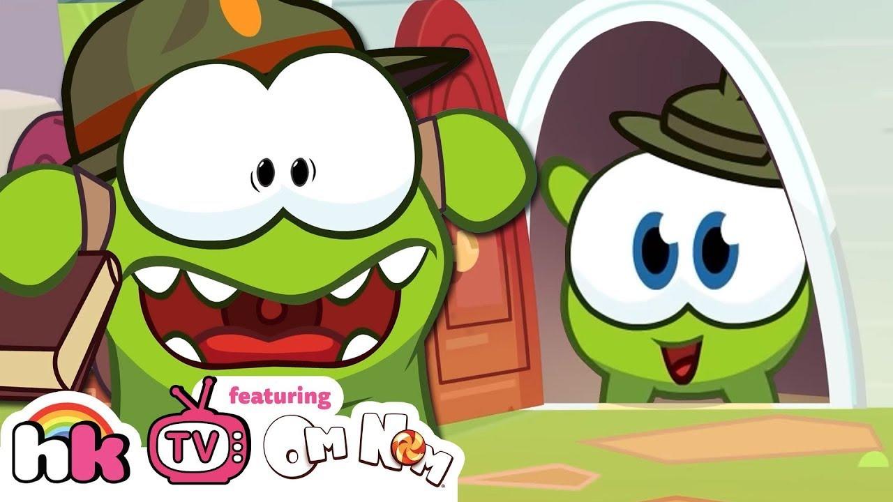 Om Nom Stories Full Episodes: Nibble-Nom Scout Noms (Season 17) | Funny Cartoon | HooplaKidz Tv