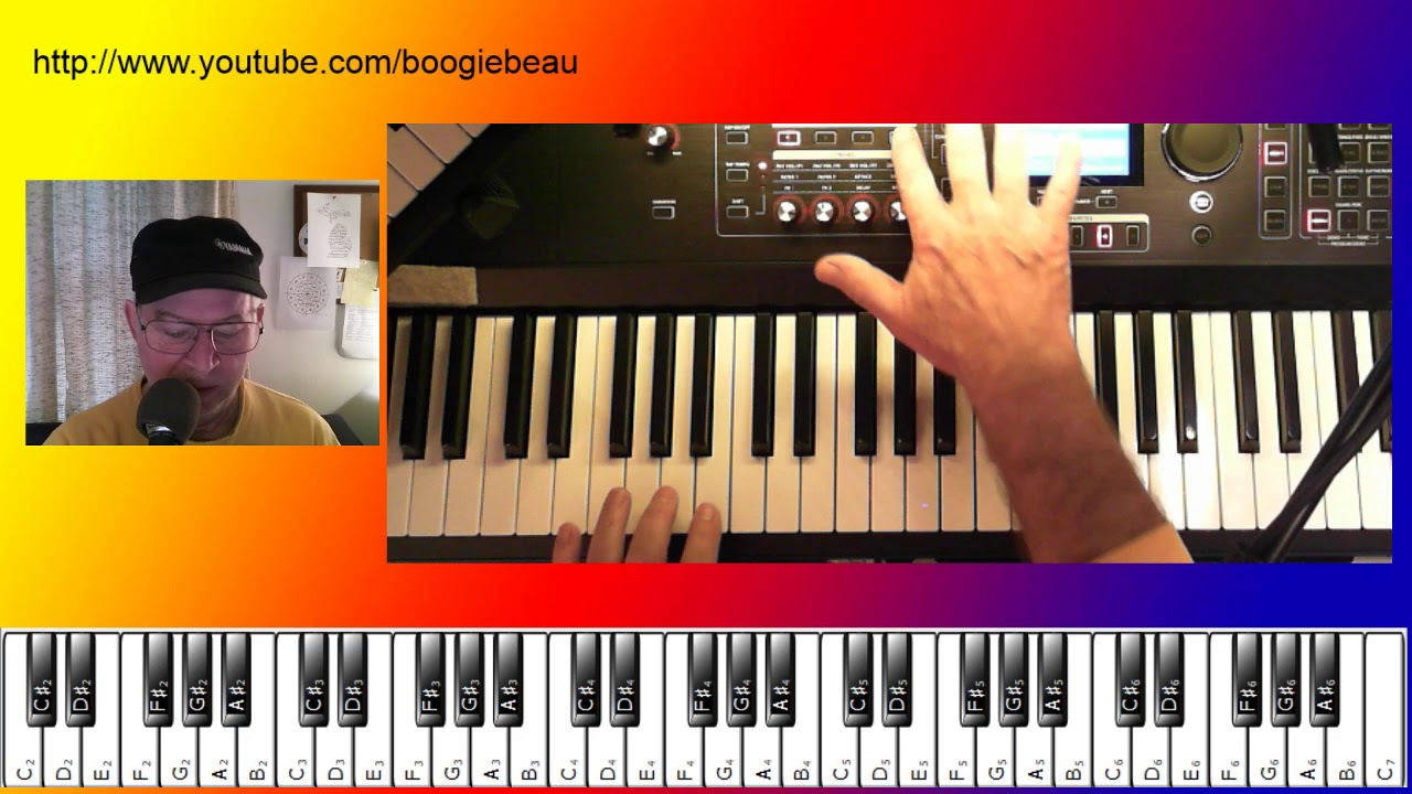 how to play a electronic keyboard