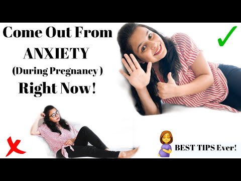 How To Deal With ANXIETY During Pregnancy | BEST TIPS to deal with Anxiety