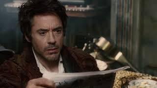 Ватсон помогает Шерлоку выйти из запоя I Шерлок Холмс (2009)
