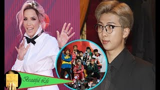 Halsey Reveals She Has A Secret Dating With BTS' RM & Fans Are Freaking Out Over It
