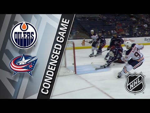 12/12/17 Condensed Game: Oilers @ Blue Jackets