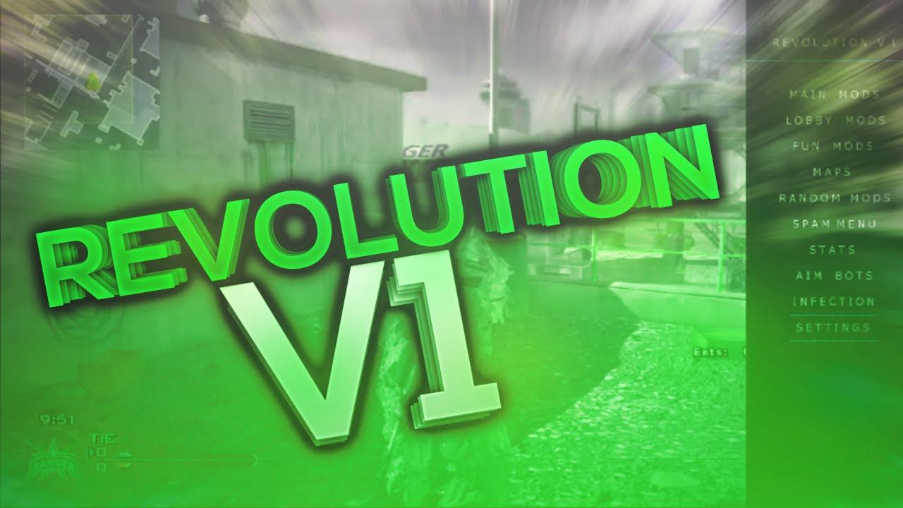 [MW2/PS3] Revolution V1 | CFG Mod Menu | 2016 | No Jailbreak +Download