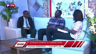 Understanding Dariye's sentence with an eye witness