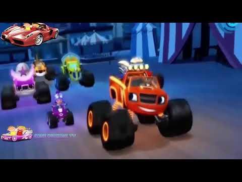 Вспыш и чудо машинки гонщики света мультфильм
