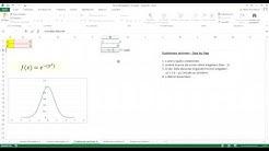 Mathe mit Excel - 2D Funktionen zeichnen - Tutorial