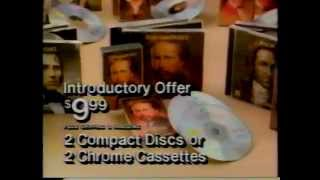 "1989 Time-Life ""Great Composers"" Collection commercial"