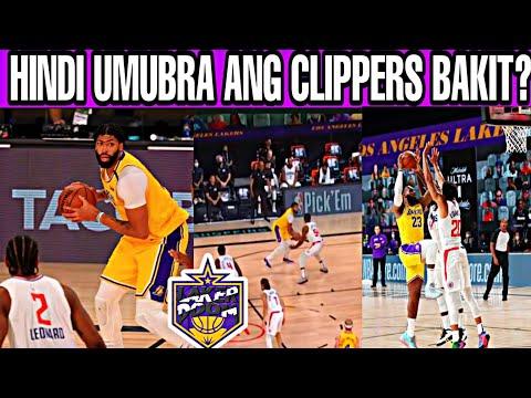 Lakers naka isa nanaman kontra Clippers! Anlakas ng Depensa ni LeBron!
