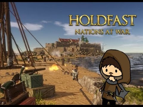 Holdfast: Nations at War - Alpha Coastal Siege Gameplay | Epic Beach Defence!