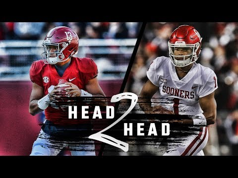 Head to Head: Alabama vs. Oklahoma