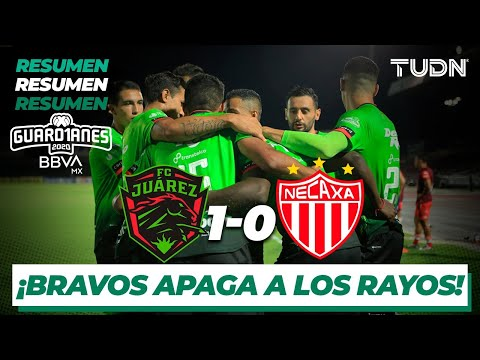 Resumen y goles | FC Juárez 1-0 Necaxa | Guard1anes 2020 Liga BBVA MX J2 |TUDN