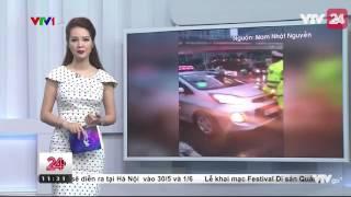 Lái Xe Taxi Cố Tình Húc Vào Cảnh Sát Để Cản Trở Đoàn Xe Ưu Tiên - Tin Tức VTV24