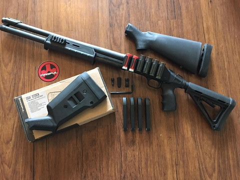Repeat Mesa Tactical Telescoping Hydraulic Recoil Stock Kit