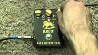 Black Cat Bass Octave Fuzz