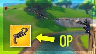Grappling Hook je OP! (Fortnite Solo Snipes)