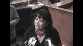 Dip. Margarita Martina Corro Arambula En El Congreso Del Edo.