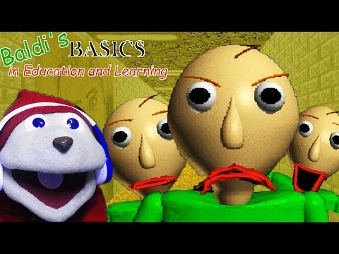BALDI SPANKING CHIPMUNKS NOW? | BALDI'S BASICS - Educational Horror Game