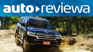 2016, 2017 Toyota LandCruiser 200 Video Review - Australia