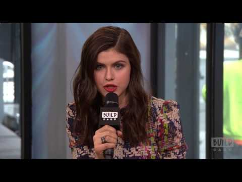 Alexandra Daddario And Jon Bass Discuss Reversing Stereotypical Gender Roles in