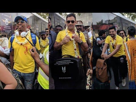 Chennai Super Kings Champions in Chennai IPL 2018 | Chennai Super Kings Celebrations | Bravo | Dhoni