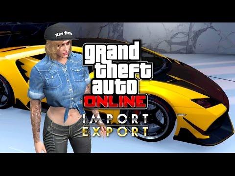 NEW GTA 5 IMPORT/EXPORT DLC! 60 Car Custom Garage + Pegassi Tempesta Customization! (GTA 5 Online)