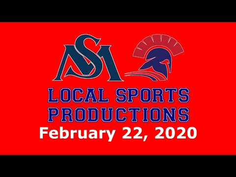 #NEPSAC Boys' Hockey On LSP - St. Mark's Lions @ Lawrence Academy Spartans, 2.22.2020