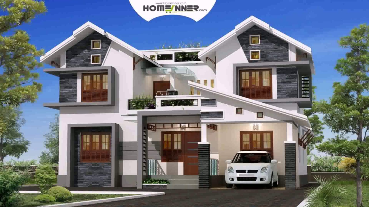 Lower middle class house design in india youtube for Indian home exterior design photos middle class