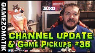 CHANNEL UPDATE & GAME PICKUPS#35